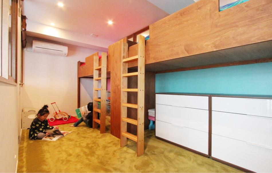 リノベWebMAGAZINE:2人で仲良く使える子供部屋