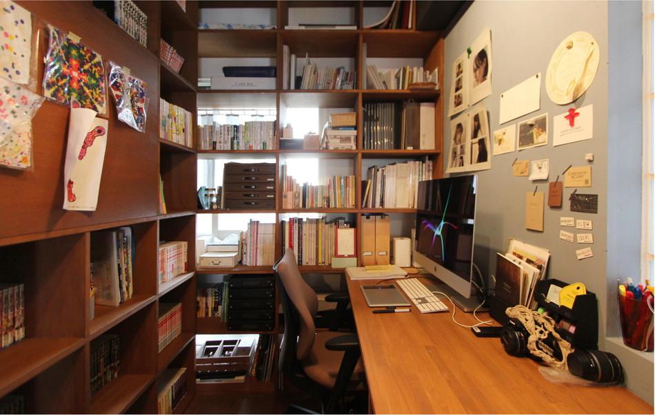 まるで図書館みたい! ? 本に囲まれた書斎