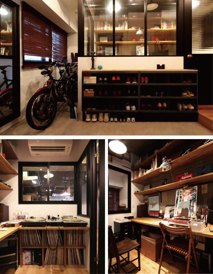 中古リノベーション:自宅にDJブース!?篭れる書斎がある男子リノベ部屋