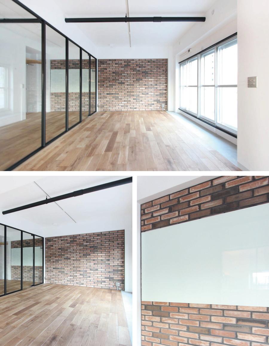 中古リノベーション:お部屋の魅力が一気にアップ! タイル貼りの壁