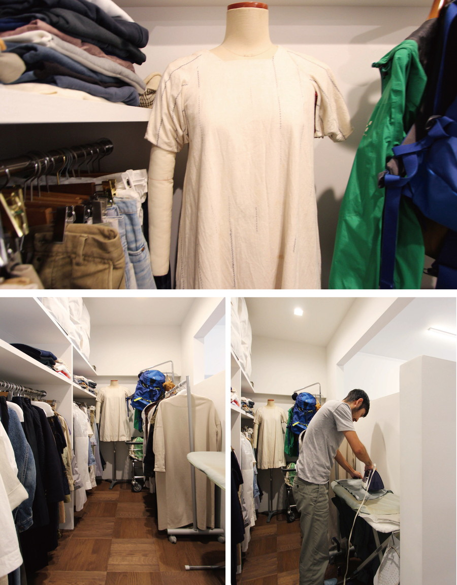 中古リノベーション:魅せるWIC!?ファッションを楽しむリノベ部屋