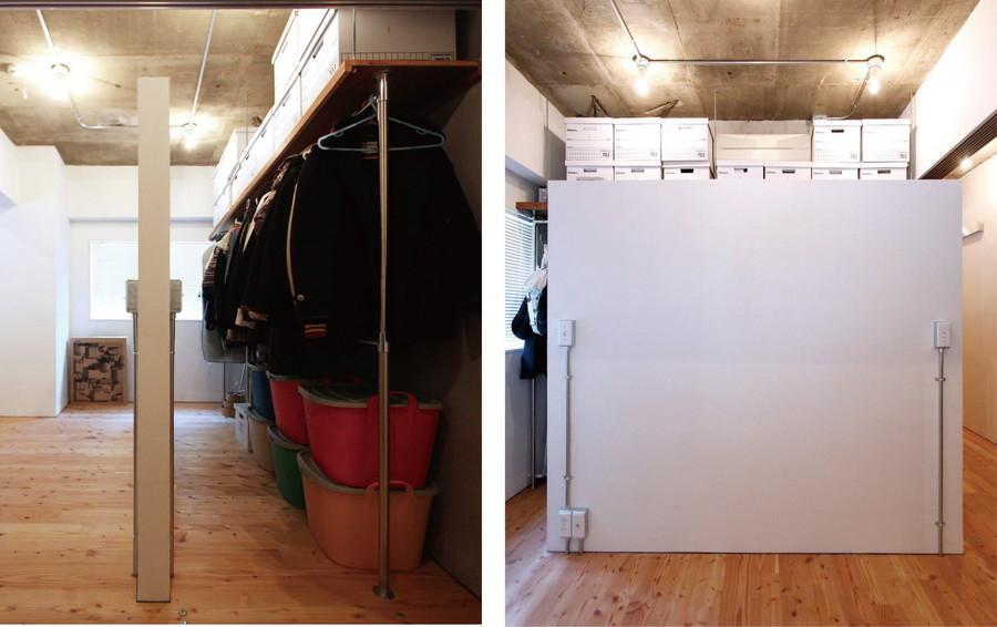 中古リノベーション:壁一枚でWICが完成!2人でも楽々使えるWIC
