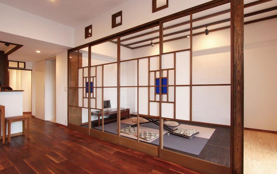 おしゃれな空間には、おしゃれな建具を!魅惑の引き戸特集