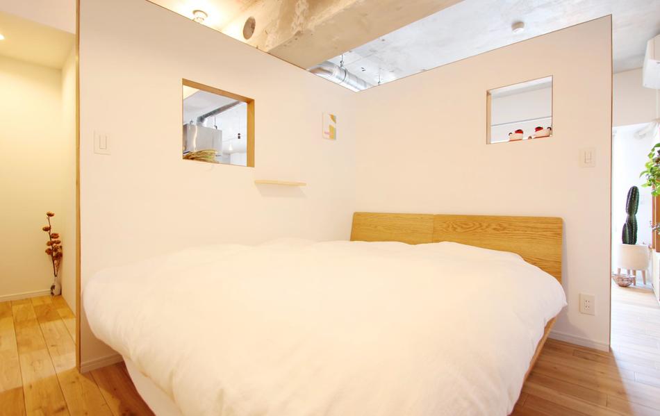 個室化だけが手段じゃない!さまざまなタイプの寝室